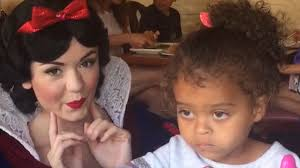 Little White Girl Meme - this little girl is not impressed with snow white mix 94 1