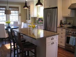 kitchen islands with tables attached travertine countertops kitchen island with table attached lighting
