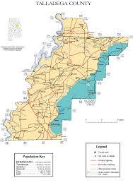 Map Alabama Talladega County Alabama History Adah