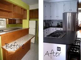 Kitchen Remodel Ideas Before And After Small Kitchen Remodel Ideas On A Budget Visionexchange Co