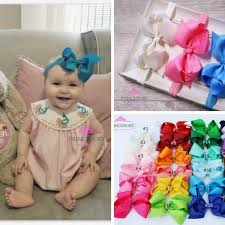 baby girl hair bows baby headband bows princessory