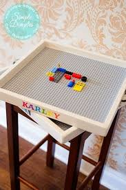lego table with storage diy storage decorations