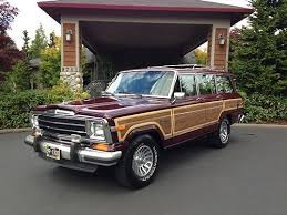 1991 jeep grand purchase used 1991 jeep grand wagoneer edition 4x4 woodie