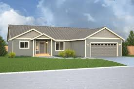Rambler House by Jackson Ridge Home Plan True Built Home Pacific Northwest