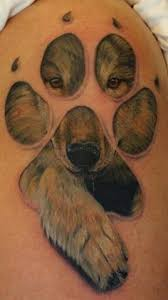 wolf print tatuajes tatuajes