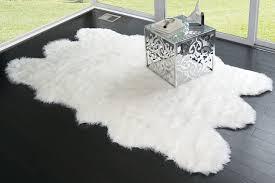 Sheepskin Runner Rug Amazon Com Glamour Home Faux Sheepskin Silky Flokati Fur Shaggy