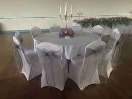 Silver Chair Covers 470 Best Chair Covers Images On Pinterest White Chairs White