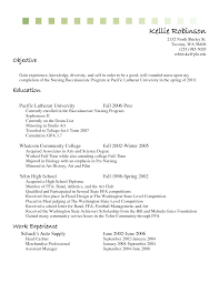 Sample Resume For A Nurse by Resume Sample For Cashier Position Resume For Your Job Application