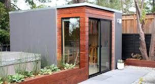 Backyard House Shed by Modern Spaces U0026 Sheds Are Stylish Tiny Houses For Your Backyard