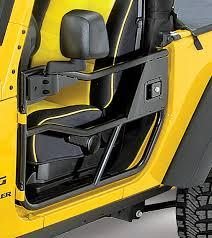 jeep wrangler door mirrors bestop highrock 4x4 element front doors mirrors for 07 17