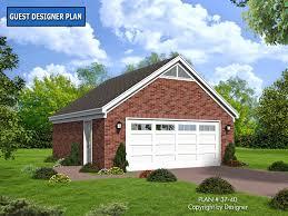 cottage garage plans garage plan 37 40 house plans by garrell associates inc