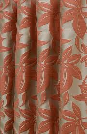 Orange And Brown Curtains Viganello Burnt Orange Made To Measure Curtains