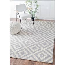 nuloom handmade abstract wool fancy pixel trellis rug 9 u0027 x 12