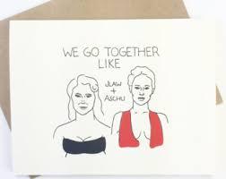 meryl card friendship card funny actor card thank you card