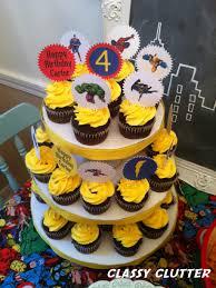 halloween cupcake display diy cupcake tower under 5 in under 30 minutes classy clutter