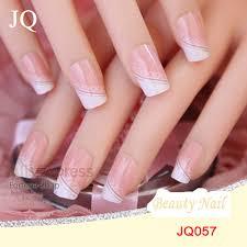 aliexpress com buy jq 24pcs set acrylic nails 3d false nail full