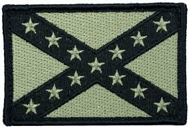 Ir American Flag Patch Tactical Velcro Confederate State Flag Morale Patch Patches And