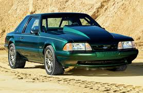1992 ford mustang 1992 ford mustang lx green sleeper photo image gallery