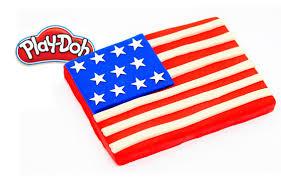 Blue White Red White Blue Flag Play Doh Usa Red White Blue American Flag Cake Celebrate Art