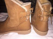 ugg womens eliott boots chestnut rubber ankle boots for ebay