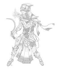 dunmer spellsword by wafercat morrowind pinterest character