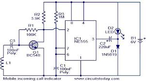 wiring diagram cell phone circuit diagram hidden active detector