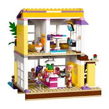 amazon com lego friends stephanie u0027s house kids building