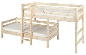 Flexa Bunk Bed Flexa Classic Semi High Bunk Bed Bedco Isle Of
