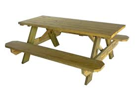 Red Cedar Octagon Walk In Picnic Table by Bench Amazing Wooden Picnic Bench Treated Pine Octagon Walk In