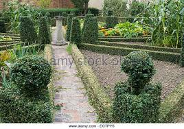 walled garden with topiary stock photos u0026 walled garden with