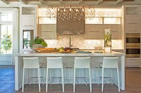 Kitchen Chandelier Ideas Linear Chandelier Contemporary Kitchen Pizitz Home With