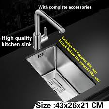 single kitchen sink sizes compare prices on single bowl kitchen sinks online shopping buy
