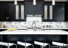 backsplash for black and white kitchen black and white kitchen backsplash subscribed me
