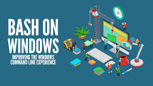 bash on windows improving the windows command line experience