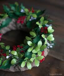 where to buy mistletoe metallic paper and mistletoe wreath lia griffith