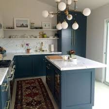 Small Kitchen Chandeliers Marble Countertops Alternative Small Kitchen Design With Grey