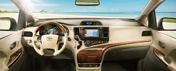 2015 Toyota Sienna Interior Toyota Sienna Options Packages Limbaugh Toyota Reviews