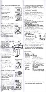 yongnuo yn 460 instruction manual speedlights net