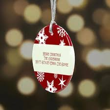 christmas personalized personalized christmas ornaments personalization mall