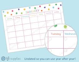 printable calendar 2016 etsy hazel fisher creations rainbow colours and free printable planner page