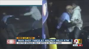 thanksgiving run cincinnati man robbed shot at walnut hills atm on thanksgiving day youtube