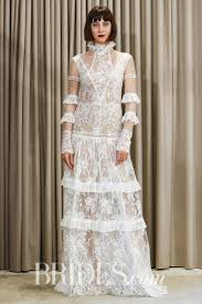 lace wedding gown lace wedding dresses from the bridal runways wedding dresses