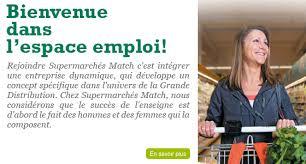 supermarch match la madeleine siege supermarchés match emploi