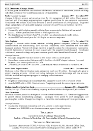 Sales Resume Example Technology Sales Resume Examples