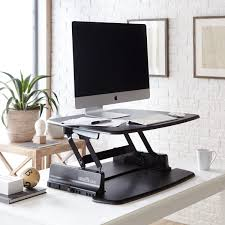 amazon com varidesk height adjustable standing desk pro 30