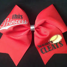 softball bows shop cheer bows for softball on wanelo
