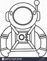 bright idea astronaut outline picture tattoo clipart images
