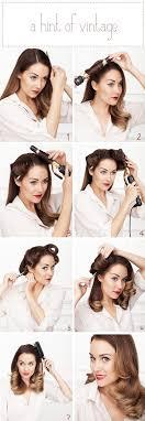 easy vintage hairstyles více než 25 nejlepších nápadů na pinterestu na téma easy