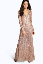 boutique sequin mesh maxi dress boohoo