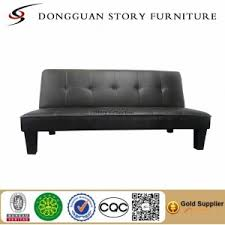 sleeping leather metal frame 3 seater sofa bed story furniture